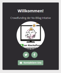 Crowdfunding No Billag