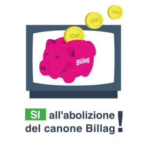 Si all'abolizione del canone Billag